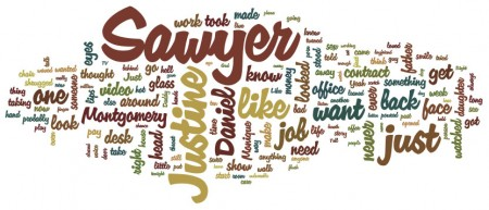 Post image for Just My Novel's Word Cloud
