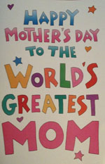 Post image for Apparently, I'm the 'World's Greatest Mom'
