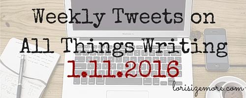 Weekly Tweets 0111